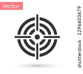grey target sport for shooting... | Shutterstock .eps vector #1296603679