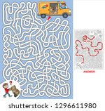 consignments. find a correct... | Shutterstock .eps vector #1296611980