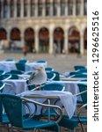 off season in venice  italy   a ...   Shutterstock . vector #1296625516