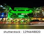 usa. florida. miami beach 2019  ... | Shutterstock . vector #1296648820