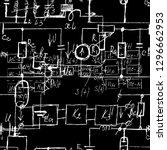 seamless endless pattern... | Shutterstock .eps vector #1296662953