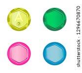 game  button  design  vector ...