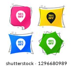 sale pointer tag icons.... | Shutterstock .eps vector #1296680989