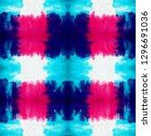 tie dye seamless pattern. hand... | Shutterstock . vector #1296691036