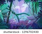 Vector Illustration Of Tropica...