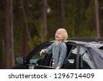 cute little boy ready for a... | Shutterstock . vector #1296714409