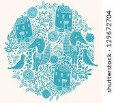 vector illustration of an...   Shutterstock .eps vector #129672704