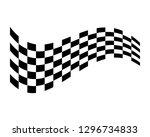 flag race vector icon | Shutterstock .eps vector #1296734833