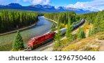 alberta  canada   october 1... | Shutterstock . vector #1296750406