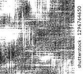 black and white grunge pattern... | Shutterstock . vector #1296764650