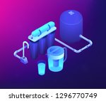purification filters cleansing... | Shutterstock .eps vector #1296770749