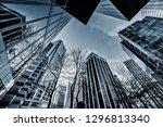 canada  vancouver  skyscrapers... | Shutterstock . vector #1296813340