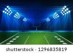 american football arena field... | Shutterstock .eps vector #1296835819