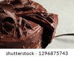 Tasty Homemade Chocolate Cake...
