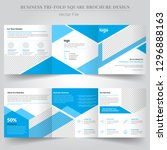 business templates for tri fold ... | Shutterstock .eps vector #1296888163