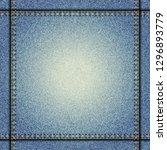 jeans background pattern.... | Shutterstock .eps vector #1296893779