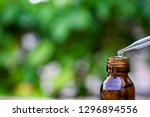 essential oil falling from... | Shutterstock . vector #1296894556