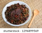 cheera thoran or  red spinach... | Shutterstock . vector #1296899569