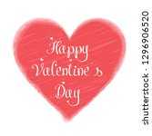 happy valentine's day greeting...   Shutterstock .eps vector #1296906520