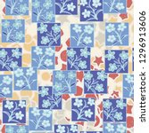 seamless pattern made up of...   Shutterstock .eps vector #1296913606