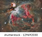 The Great Orion Nebula In Real...