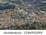 aerial view of aix les bains | Shutterstock . vector #1296931099