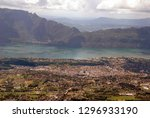 city of aix les bains and lake... | Shutterstock . vector #1296933190