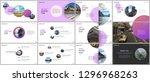 minimal presentations design ... | Shutterstock .eps vector #1296968263
