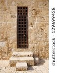 old door of harbor castle in... | Shutterstock . vector #129699428