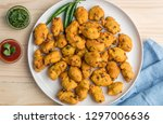 an  indian snack vegetable... | Shutterstock . vector #1297006636