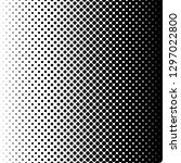 horizontal gradient halftone... | Shutterstock . vector #1297022800