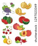 collection of colorful images...   Shutterstock .eps vector #1297023349