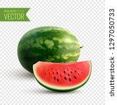fruity realistic design concept ... | Shutterstock .eps vector #1297050733