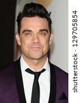 Robbie Williams Arrives For Th...