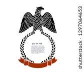 eagle is a heraldic symbol... | Shutterstock .eps vector #1297064653