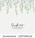 vector illustration natural... | Shutterstock .eps vector #1297090126