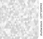 triangular  low poly  light... | Shutterstock .eps vector #1297104943