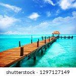 Summer Beach Cancun  Mexico