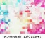 grunge frame.  beautiful.... | Shutterstock . vector #1297133959