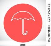 umbrella vector icon 10 eps