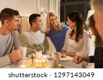 celebration  holidays and... | Shutterstock . vector #1297143049