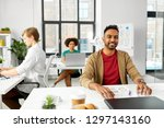 business and people concept  ... | Shutterstock . vector #1297143160