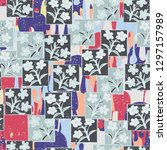 seamless pattern made up of...   Shutterstock .eps vector #1297157989