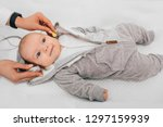 hearing test baby   cortical... | Shutterstock . vector #1297159939