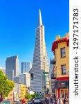 san francisco  california  usa  ...   Shutterstock . vector #1297171783