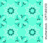 stylish branches elegant... | Shutterstock .eps vector #1297183153