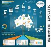 detail modern infographic... | Shutterstock .eps vector #129718550