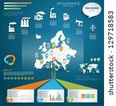 detail modern infographic... | Shutterstock .eps vector #129718583