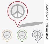 vector illustration web ... | Shutterstock .eps vector #129719090