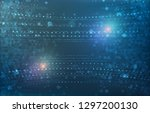 hardware quantum form. abstract ...   Shutterstock .eps vector #1297200130